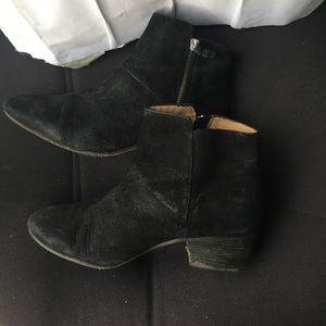 Coach ankle suede boots size 8.5